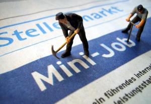 Minijobers : un droit du travail en miniature. Image : dpa/alliance